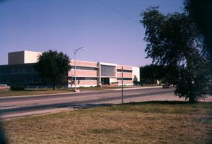 Primary view of object titled '[Administration Building at West Texas State University]'.