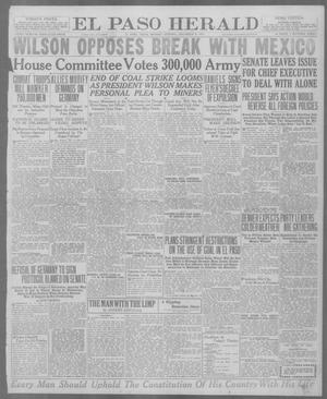 Primary view of object titled 'El Paso Herald (El Paso, Tex.), Ed. 1, Monday, December 8, 1919'.