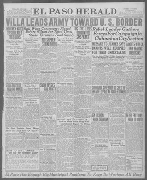 Primary view of object titled 'El Paso Herald (El Paso, Tex.), Ed. 1, Friday, April 2, 1920'.