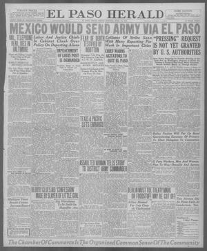Primary view of object titled 'El Paso Herald (El Paso, Tex.), Ed. 1, Friday, April 16, 1920'.