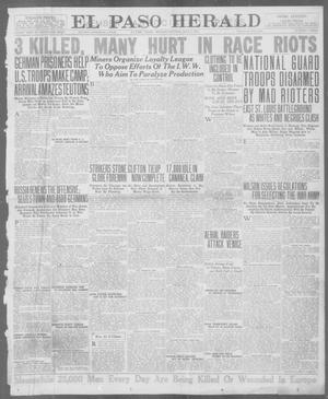 Primary view of object titled 'El Paso Herald (El Paso, Tex.), Ed. 1, Monday, July 2, 1917'.