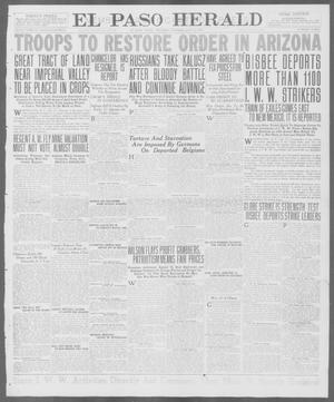 Primary view of object titled 'El Paso Herald (El Paso, Tex.), Ed. 1, Thursday, July 12, 1917'.