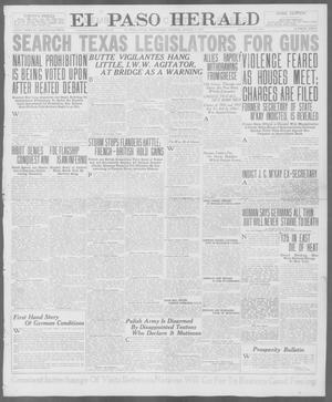 Primary view of object titled 'El Paso Herald (El Paso, Tex.), Ed. 1, Wednesday, August 1, 1917'.