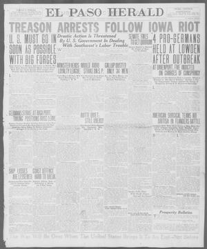 Primary view of object titled 'El Paso Herald (El Paso, Tex.), Ed. 1, Thursday, August 2, 1917'.