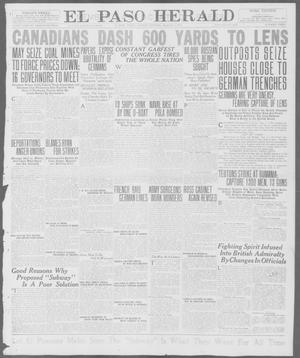 Primary view of object titled 'El Paso Herald (El Paso, Tex.), Ed. 1, Tuesday, August 7, 1917'.