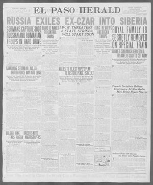 Primary view of object titled 'El Paso Herald (El Paso, Tex.), Ed. 1, Wednesday, August 15, 1917'.