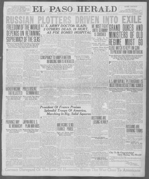 Primary view of object titled 'El Paso Herald (El Paso, Tex.), Ed. 1, Friday, September 7, 1917'.