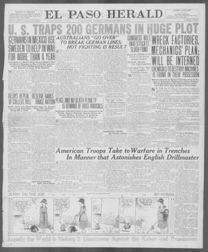 Primary view of object titled 'El Paso Herald (El Paso, Tex.), Ed. 1, Thursday, September 27, 1917'.