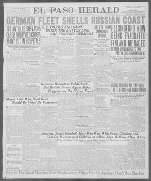 Primary view of object titled 'El Paso Herald (El Paso, Tex.), Ed. 1, Saturday, October 27, 1917'.