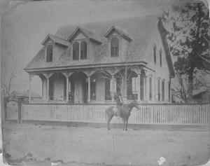 Primary view of [McFarlane House that was located on Jackson Street.]