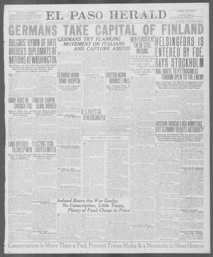 Primary view of object titled 'El Paso Herald (El Paso, Tex.), Ed. 1, Saturday, November 10, 1917'.