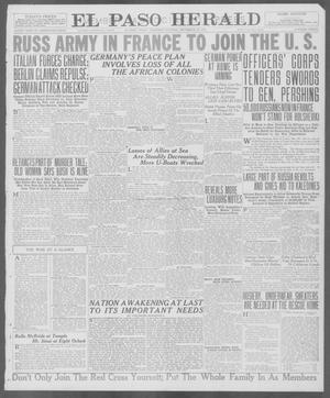 Primary view of object titled 'El Paso Herald (El Paso, Tex.), Ed. 1, Thursday, December 20, 1917'.