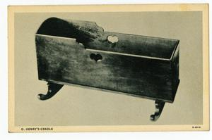 Primary view of object titled 'O. Henry's cradle'.