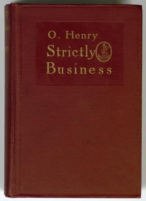 Primary view of object titled 'Strictly Business'.