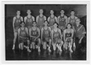 Primary view of object titled 'Van Horn Basketball Team 1962'.