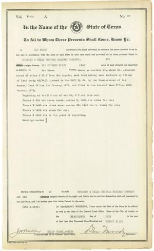 Patent 87, Volume 40-A