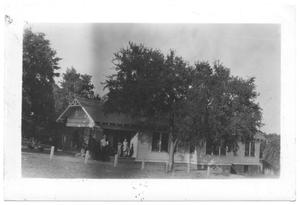 Primary view of object titled '[Roland Stewart's Residence at Lake Dallas]'.
