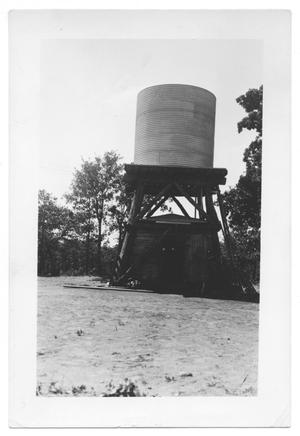 Primary view of object titled '[Standpipe for Transient Camp at Lake Dallas]'.