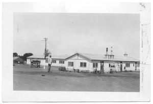 Primary view of object titled '[General Headquarters and Mess Hall]'.