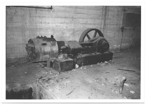 Primary view of object titled '[Vacuum Pump at White Rock Pump Station]'.