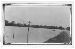 Primary view of object titled '[Roadway South of Timber Creek, Near Lewisville]'.
