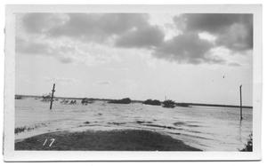 Primary view of object titled '[Looking West Over Fish Trap Crossing]'.