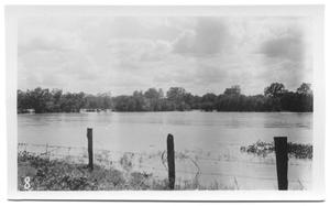 Primary view of object titled '[Denton Creek on Old Road]'.