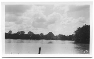 Primary view of object titled '[West of Denton Creek, Across Field]'.