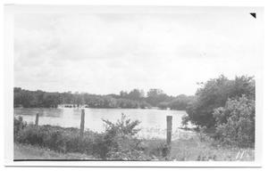 Primary view of object titled '[View Southwest of Denton Creek]'.