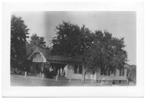 Primary view of object titled '[Superintendent's House at Lake Dallas]'.