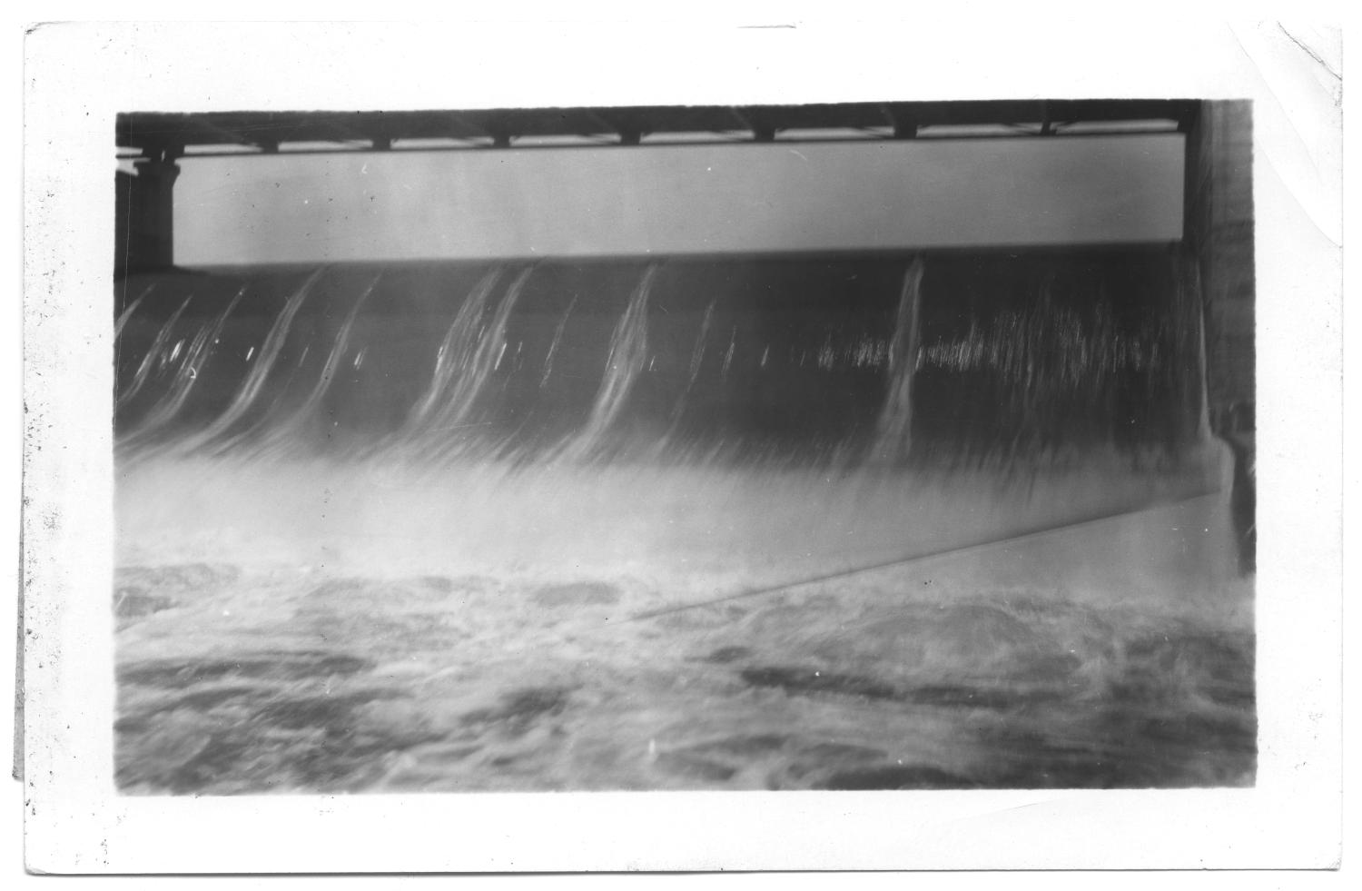 [Spillway at Lake Dallas]                                                                                                      [Sequence #]: 1 of 2