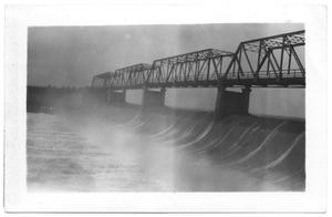 Primary view of object titled '[Spillway at Lake Dallas]'.