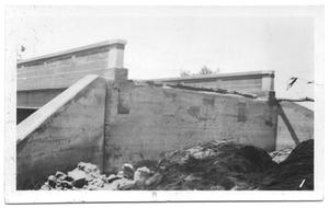 Primary view of object titled '[Concrete Bridge North of Clear Creek]'.