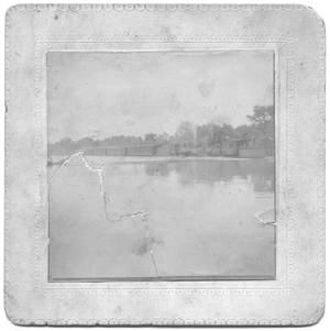 Primary view of object titled '[Flood Waters, Katy Crossing at Turtle Creek]'.