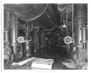 Primary view of object titled '[Pipes At White Rock Filter Plant]'.