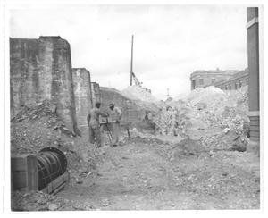 Primary view of object titled '[Installation of New Water Main]'.