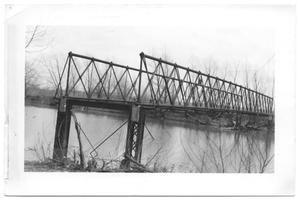 Primary view of object titled '[Abandoned Bridge]'.