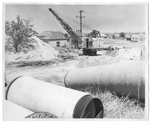 Primary view of object titled '[Water Supply Line]'.