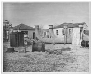 Primary view of object titled '[Sunset Pumping Station Equipment]'.