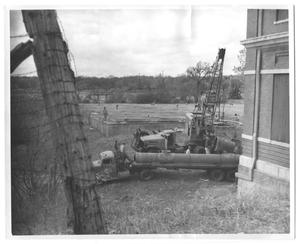 Primary view of object titled '[Pipe Laying at White Rock Filter Plant]'.