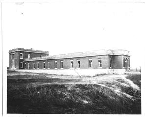 Primary view of object titled '[White Rock Purification Plant Filter Building]'.