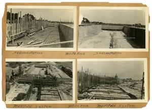Primary view of object titled '[Seven Views of White Rock Construction]'.