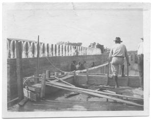 Primary view of object titled '[Construction of White Rock Purification Plant]'.