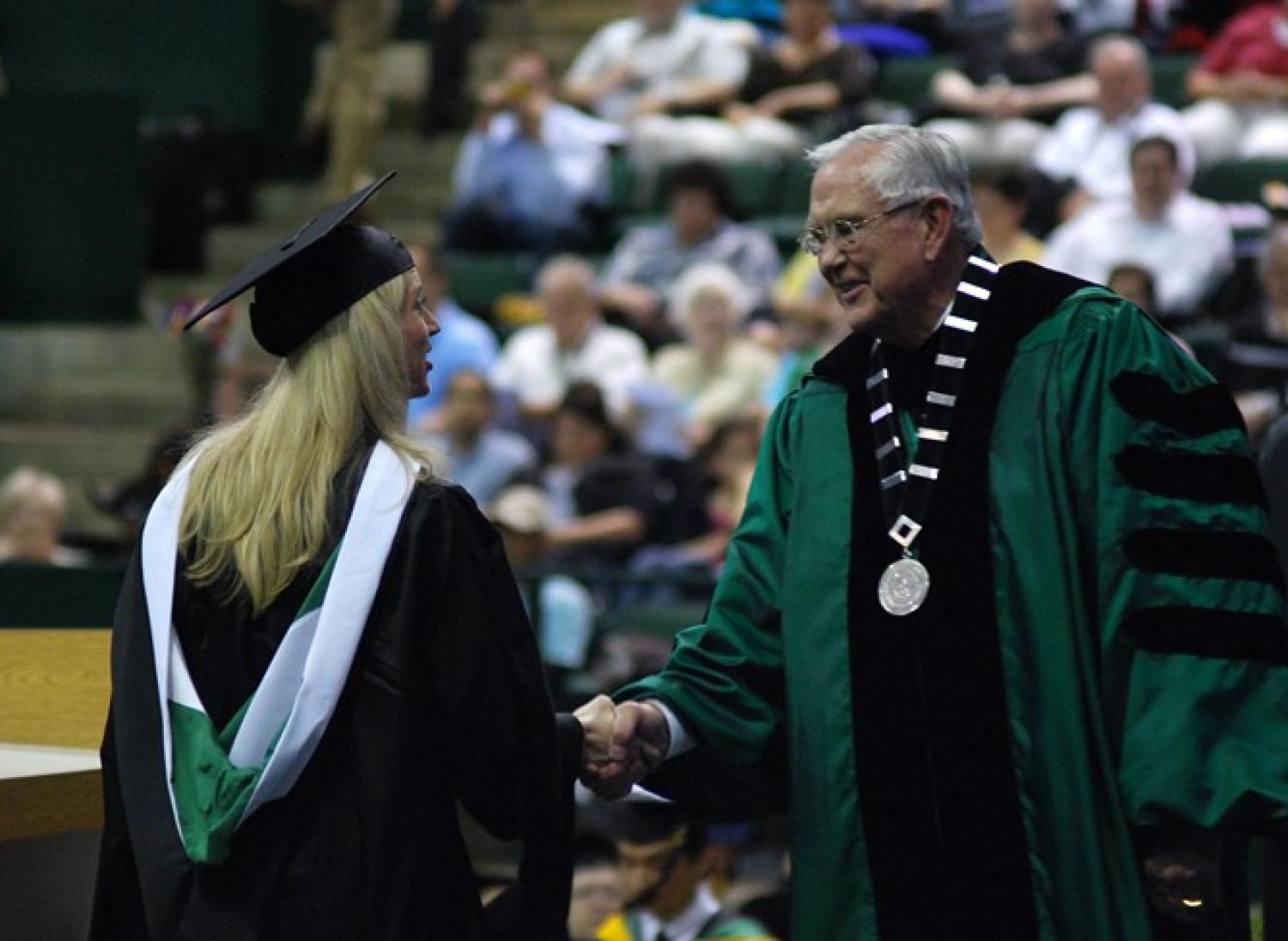 Masters Commencement Ceremony] - The Portal to Texas History