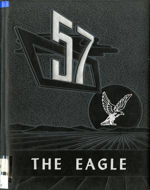 Primary view of object titled 'The Eagle, Yearbook of Stephen F. Austin High School, 1957'.