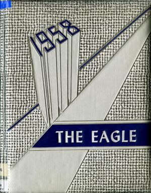 Primary view of object titled 'The Eagle, Yearbook of Stephen F. Austin High School, 1958'.