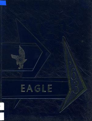 Primary view of object titled 'The Eagle, Yearbook of Stephen F. Austin High School, 1963'.
