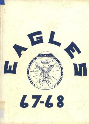 Primary view of object titled 'The Eagle, Yearbook of Stephen F. Austin High School, 1968'.