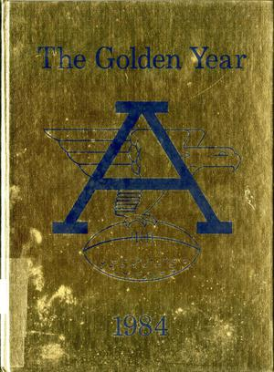 Primary view of object titled 'The Eagle, Yearbook of Stephen F. Austin High School, 1984'.