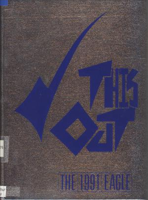 Primary view of object titled 'The Eagle, Yearbook of Stephen F. Austin High School, 1991'.